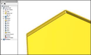 Autodesk Inventor Sheet Metal Box and Pan