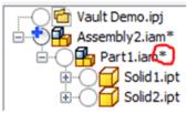 Autodesk Inventor Vault Browser