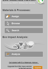 Inventor | Granta Eco Materials Adviser Upgrade