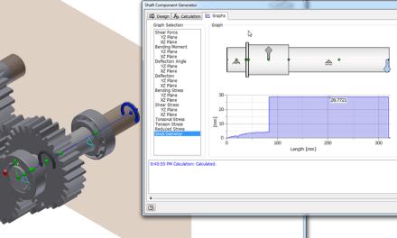Inventor | Shaft Generator Calculations