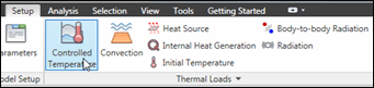 Autodesk Simulation Controlled Temperature