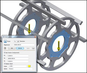 Inventor | Evaluate Stress Analysis Loads Properly