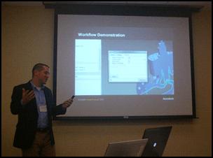 Luke Mihalcik and Simulation at Autodesk Media Summit 2012