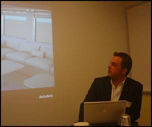 Scott Moyse and PLM 360 at Autodesk Media Summit 2012