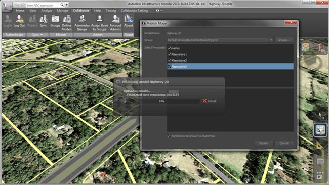 Autodesk Imfrastructure Modeler