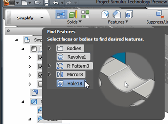 Autodesk Labs Project Simulus Find Features