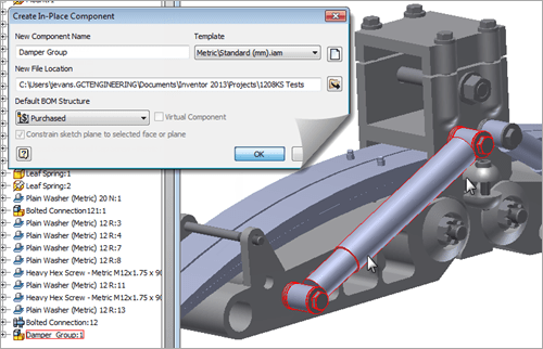 Autodesk Inventor 2013 Assembly Demote
