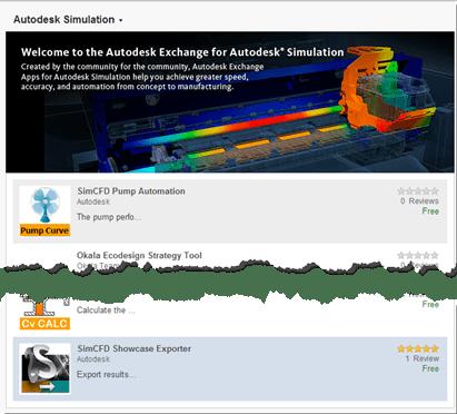 Autodesk Exchange App Store Simulation