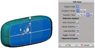 Autodesk Fusion 360 T-Splines