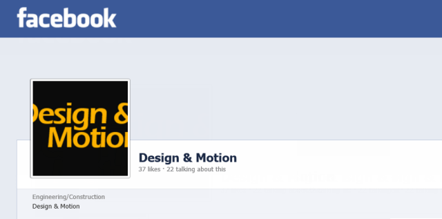 Design & Motion gets more social