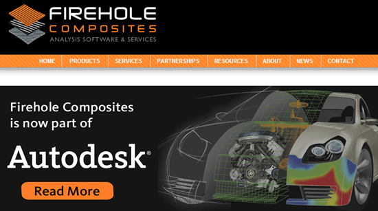 Autodesk acquires Firehole Composites
