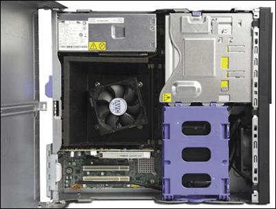 Lenovo E31 SFF ThinkStation Internal View