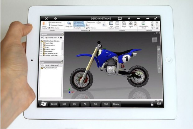 Autodesk Remote for Inventor