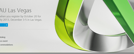 Autodesk University 2013 Registration Opens Today