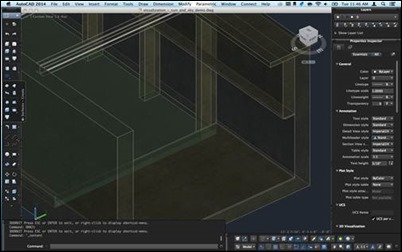 AutoCAD 2014 Mac Large Display