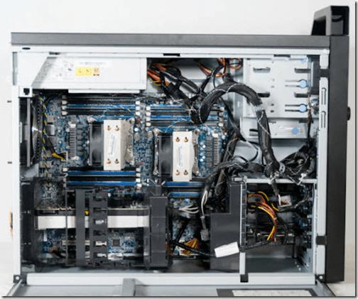 Lenovo ThinkStation D30 Workstation Internal