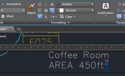 AutoCAD 2015 MTEXT Subscript & Superscript Buttons