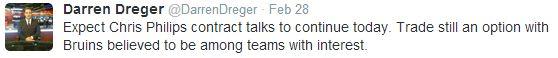 Darren Dreger Tweet