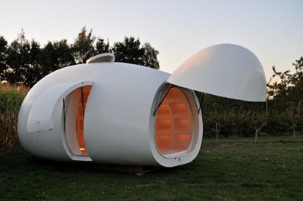 Blob House With Door Open