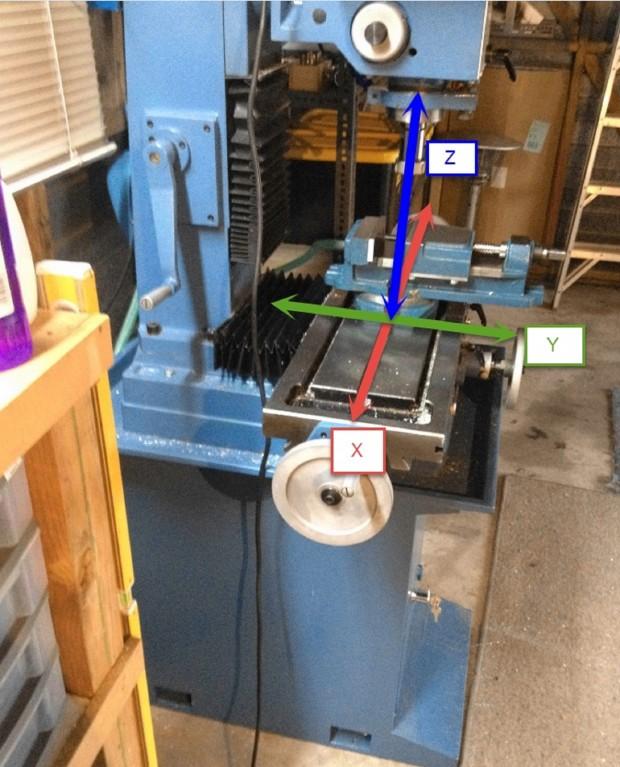 CNC Mill 3 Axes