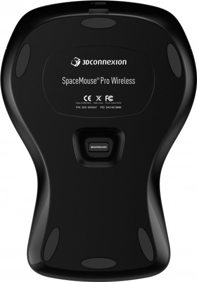 SpaceMouse Pro Wireless bottom
