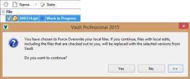 VC Same Version + CO GET_FORCE_DL