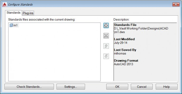 AutoCAD Configuring CAD Standards