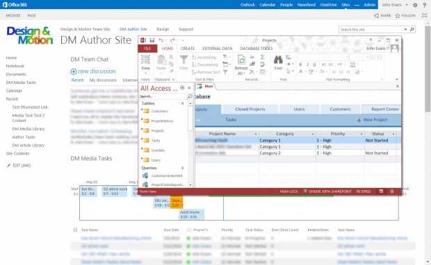 SharePoint Site Image with Database