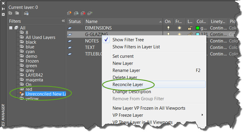 how to force delete layer in autocad
