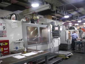 Ft Walton Machining Haas CNC Mill