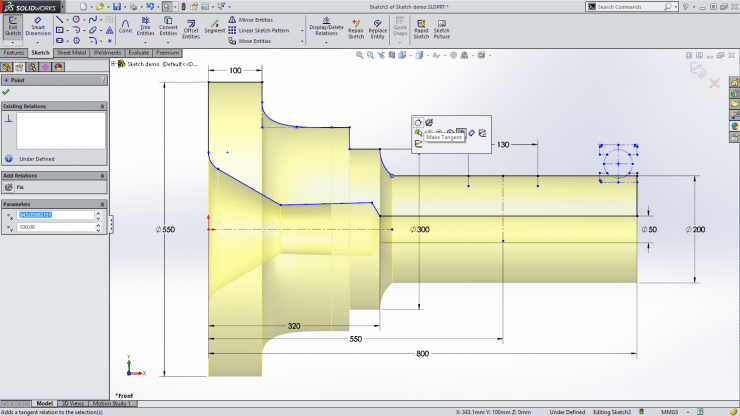 SolidWorks2015_sketch-shared-endpoint-pop-up