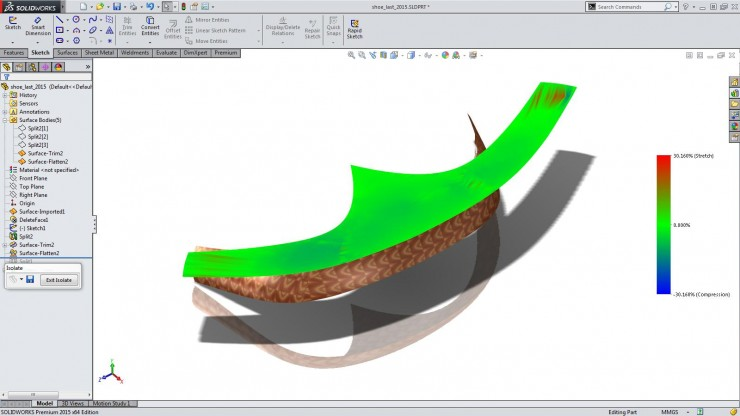 SolidWorks_2015_ Compond_Flatten_surface2_white