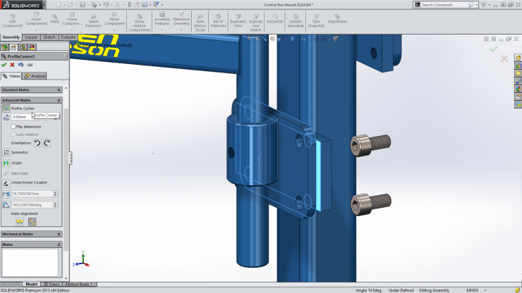 SolidWorks_2015_Profile_Center_mate1