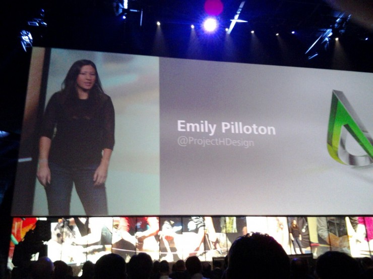 Emily Pillonton founder of Project H Design