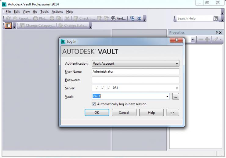 Autodesk Thick Client Landing Page