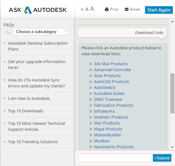 Autodesk Virtual Agent direct download links