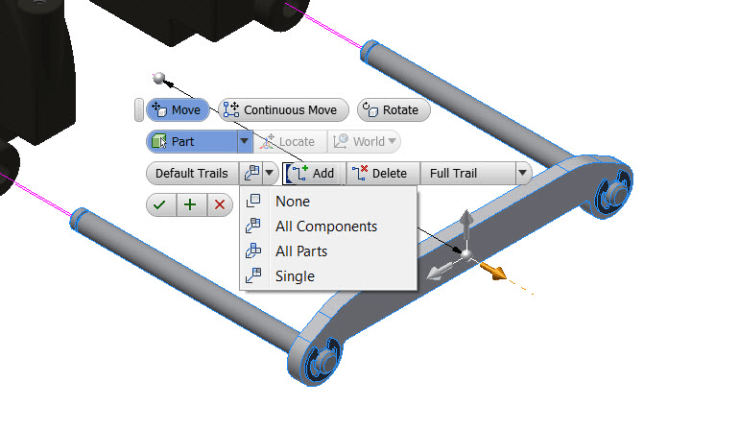 Inventor 2016 Presentations - Default Trails