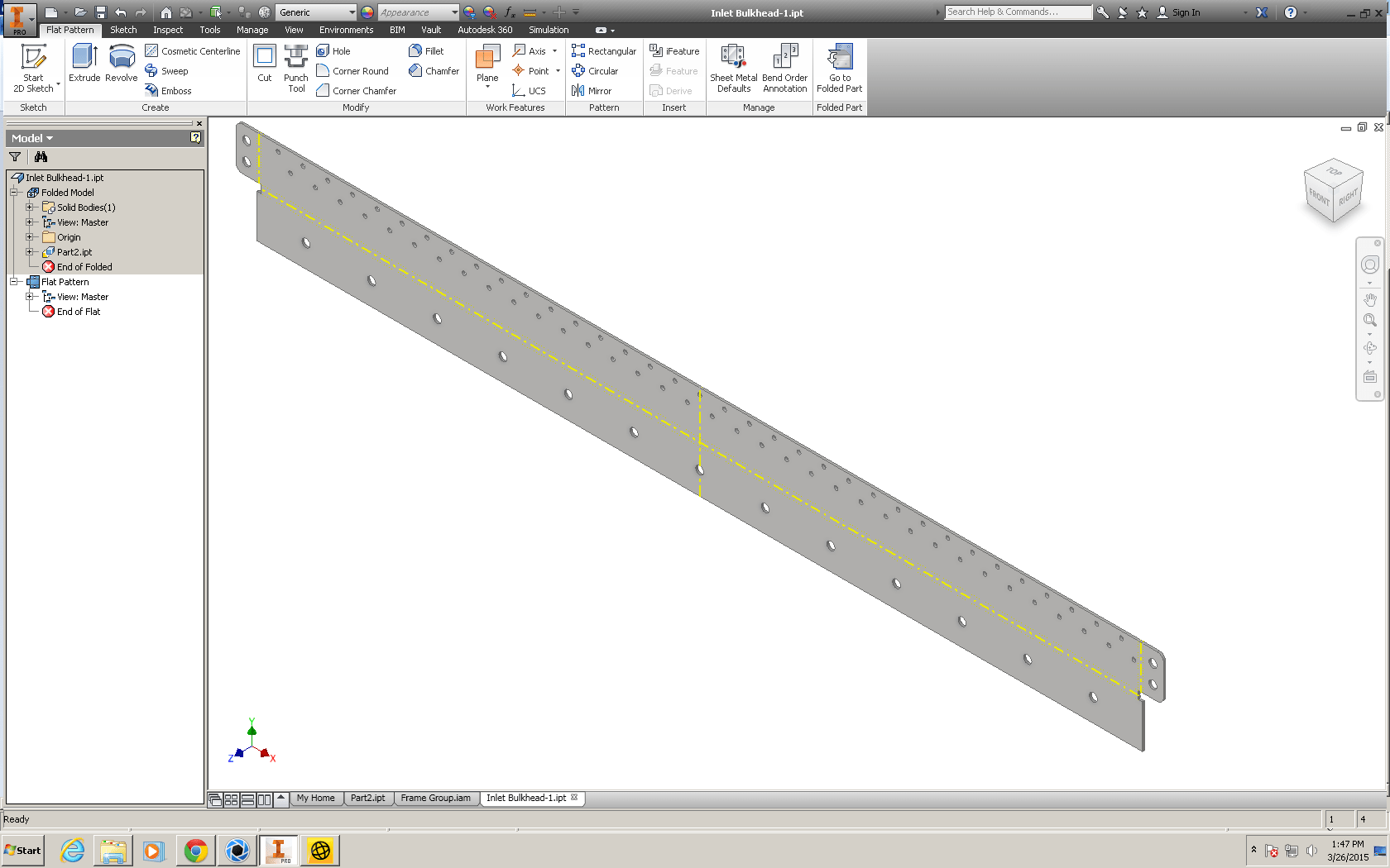 Autodesk Inventor Sheet Metal Enhanced