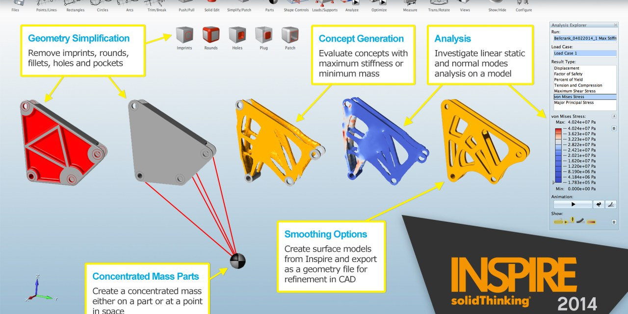 What's New: solidThinking Inspire 2014