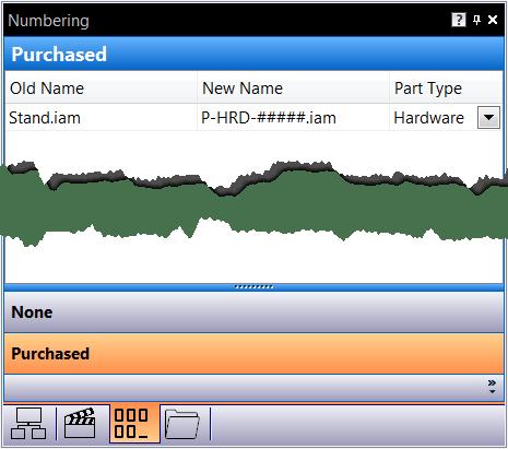Copy Design Numbering Pane