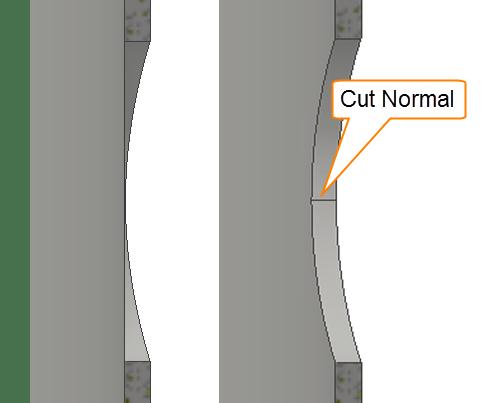 Sheet Metal Cut Normal 2