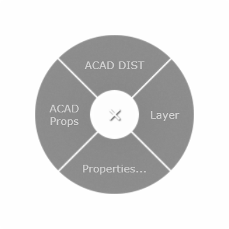 AutoCAD CADMouse Radial