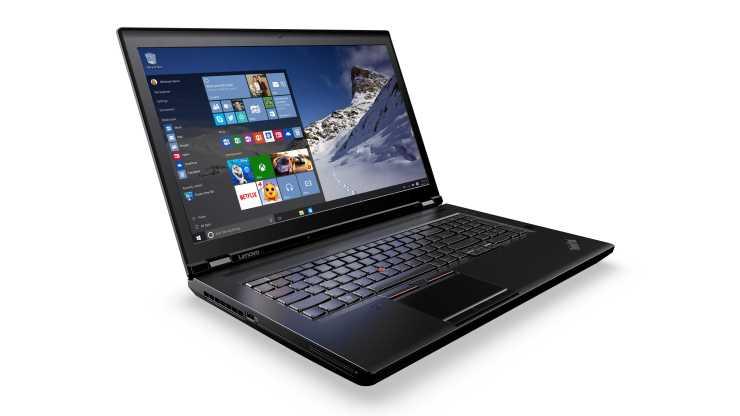 Lenovo Thinkpad P70 Windows 10