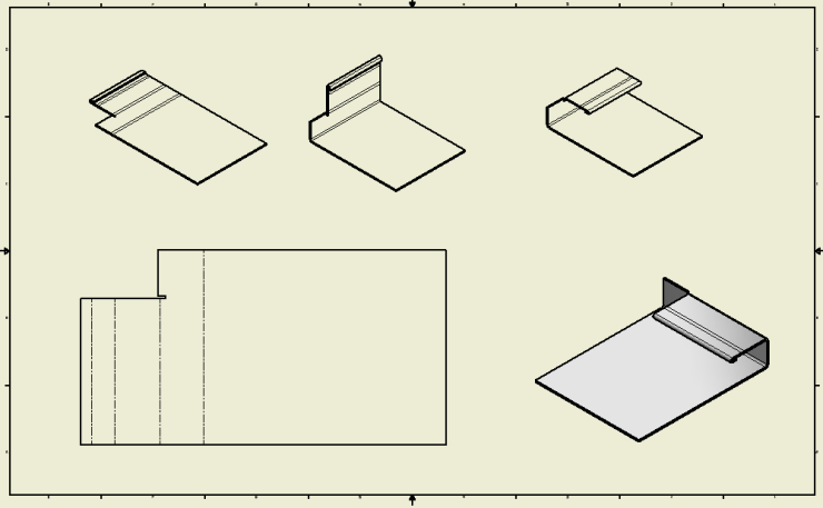 Inventor SM - Staged SM Drawing with iPart
