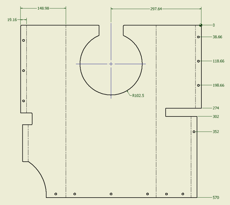 Inventor SM Drawing Dimensioning