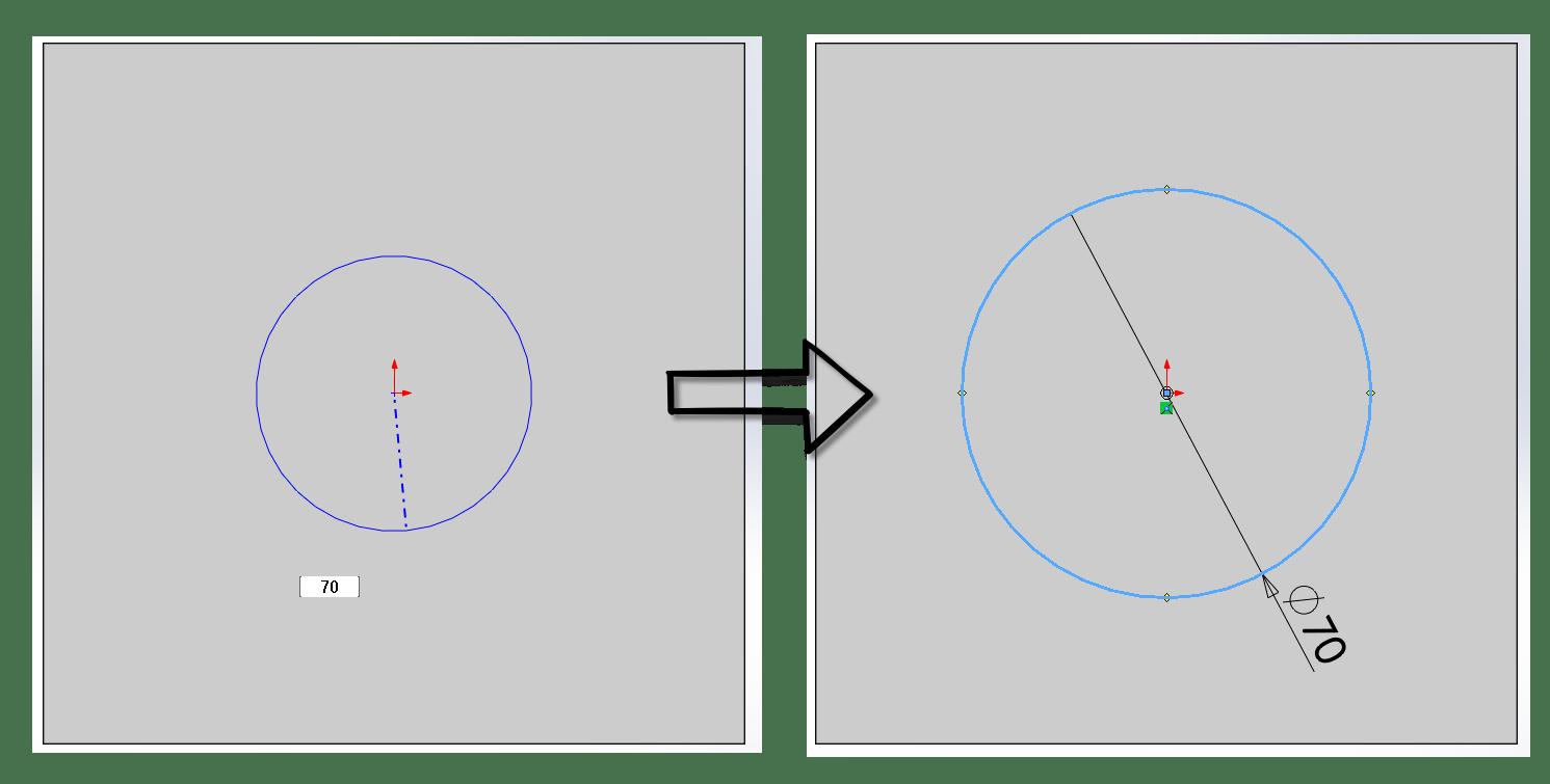 Solidworks Sketch Dimensioning Tips Design Motion