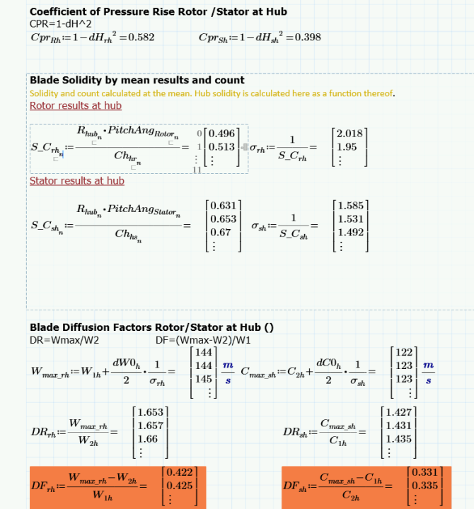 Mathcad Array errors