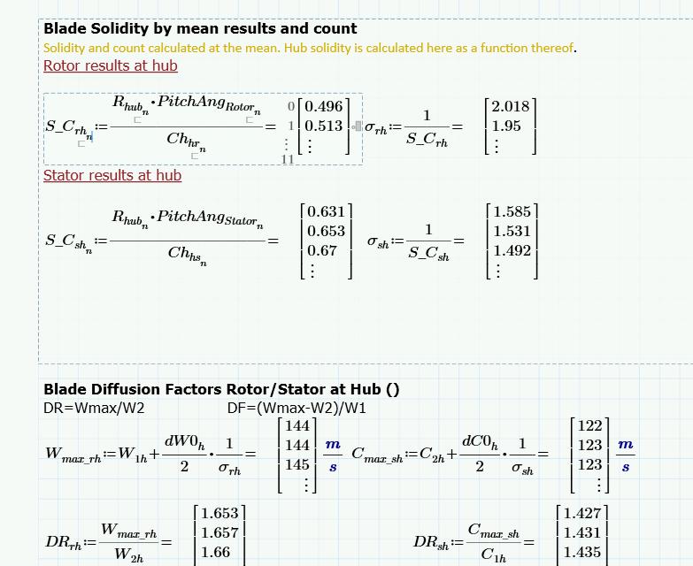 Mathcad: Array Solution Error Tip