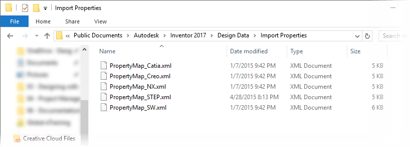 INV2017 R2 - Import Design Data