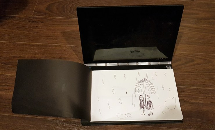 Lenovo Yoga Book with Paper Pad